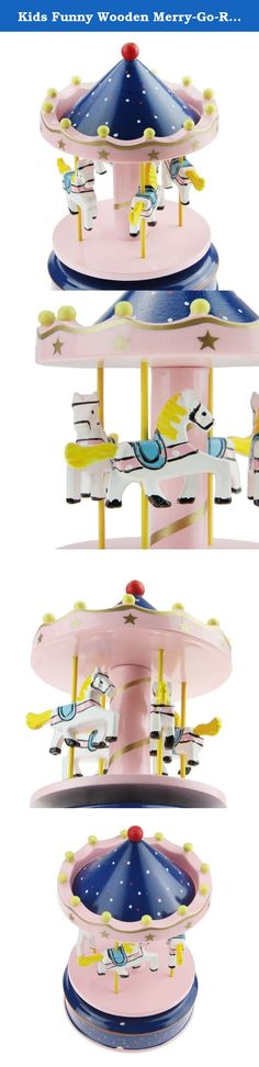 "Kids Funny Wooden Merry-Go-Round 4-Horse Rotate Carousel Music Box Toy Christmas Gift Pink. Wooden Merry-Go-Round 4 Horses Rotating Music Box Christmas Birthday Gift Carousel Toy Please note: Greenery US shop provides a 90-day money back guarantee! So just take it easy when you purchase our products. For more products in our shop, you can search ""Greenery US"" on Amazon website. Thanks! Why buy from us ??? *7*24 Tech. Support! *100% Satisfaction Guaranteed! *More considerate services…"