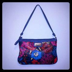 "Nine West Purse Nine West small purse. Floral design. Length 9"", height 6"". EUC!! Price firm unless bundled. Nine West Bags"