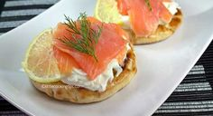 Smoked Salmon on Pita - Little Cooking Tips   Easy to cook hard to forget!