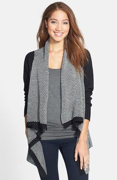 RD Style Open Front Waterfall Cardigan available at #Nordstrom