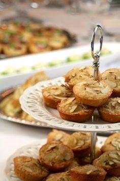 Downton Abbey Party Menu - Almond Cakes