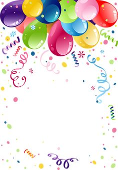 Find Colorful Party Balloons Space Text stock images in HD and millions of other royalty-free stock photos, illustrations and vectors in the Shutterstock collection. Happy Birthday Cards, Birthday Greetings, Birthday Wishes, Eid Balloons, Theme Carnaval, Celebration Background, Birthday Clipart, Birthday Frames, Birthday Background