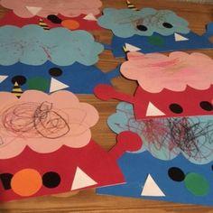 【1歳児】 *節分 Kindergarten Activities, Infant Activities, Crafts For Kids, Arts And Crafts, 1 Year Olds, Childcare, Kids Rugs, Japanese, Play