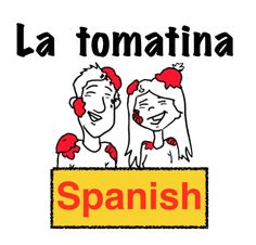 La tomatina is a super popular topic in Spanish class. Students love to learn about the biggest food fight in the world. This animated/illustrated video tells the story of Susie, an American girl who travels to Buñol, Spain to participate in La tomatina.   The video does not attempt to explain the festival's details. It is simply a story that involves La tomatina. Some of the structures used are:  Está sucio Está limpio Limpia Huele bien Huele mal Un lucha Nada Tiene una idea Muere Tira