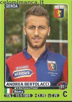 Calciatori 2014-2015: Fronte Figurina n. 176 Andrea Bertolacci