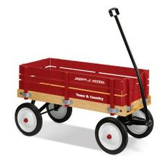 Radio Flyer | Town & Country Wagon | Wagons