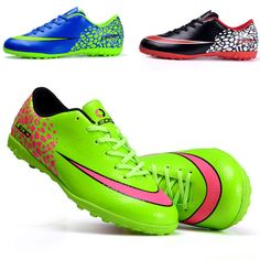 Mens-Turf-Football-Trainers-Shoes-Indoor-Sports-Soccer-Cleats-Sneakers