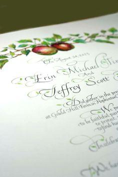 Calligraphy & Design, Sally Sanders
