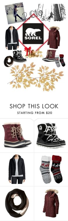 """Tame Winter with SOREL: Contest Entry"" by kristina-sandvig ❤ liked on Polyvore featuring SOREL and sorelstyle"