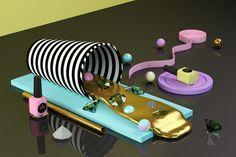 Toy Nail Polish Set Design