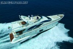 Motoryacht AZIMUT 75 - sell wonderfull and #luxurious #motor #yacht, by VTR, 22,94 m length, brand AZIMUT type 75, perfect, #excellent condition, year #built 2008. As New. Powered by 2 MAN #engines by 1360 HP / each. Few engine hours.FULL OPTIONS. Sleeps 8, more 2 beds for crew. -  ilnavigatore.net