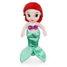 Disney Store Animators' Collection Ariel Plush Doll Small 13 Inch New with Tags