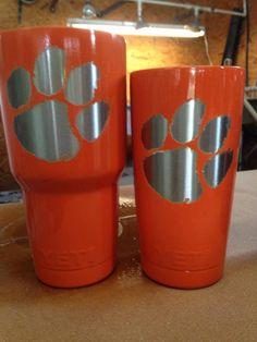 Clemson Tiger Paw Alabama Roll Tide 30oz YETI Rambler | The Preppy Pair
