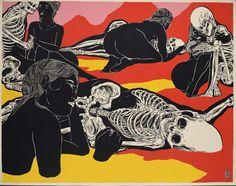 Street Art|Si esqueletos quieres ver, a Broken Fingaz debes conocer.