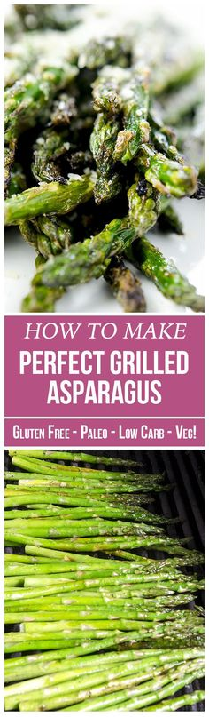 The perfect grilled asparagus recipe combines simplicity with incredible flavors. Make this veggie side dish in under 10 minutes flat!