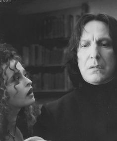 Bellatrix and Snape ... My two favorite characters.  Right here.