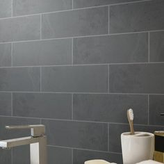 Black Brushed Limestone Tile X Floor And Decor - Black brushed limestone tile