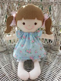 Handmade rag doll---My friend Miriam  www.facebook.com/dandelionwishesbymimi  www.dandelionwishesmimi.etsy.com
