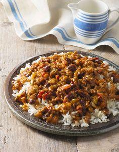 """Ce plat tex-mex généreux et gourmand, à faire facilement avec son Thermomix.. Découvrez la préparation de la recette """"Chili con carne Thermomix"""""""