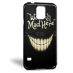 Cheshire Cat We Re All Mad Here Art for Iphone and Samsung Case (Samsung S5 Black) Alice in Wonderland http://www.amazon.com/dp/B017GBRM6K/ref=cm_sw_r_pi_dp_1xmowb03DJ6XF