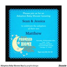 sold #Adoption #BabyShower Boy Card Available in different products. Check more at www.zazzle.com/graphicdesign