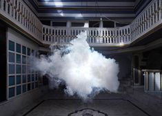 NImbus photography series by Berndnaut Smilde