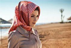 بالصور والفيديو: تعلموا كيفية لف الحجاب التركي بسهولة