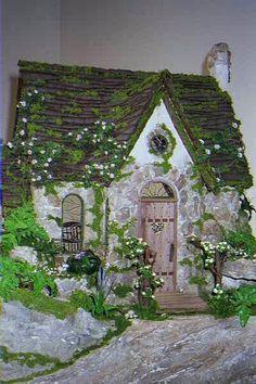 Faery Cottage by Rik Pierce