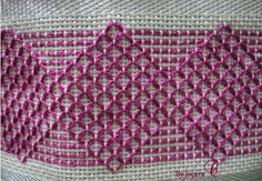 Discover thousands of images about Vagonité Swedish Embroidery, Diy Embroidery, Cross Stitch Embroidery, Embroidery Patterns, Stitch Patterns, Crochet Patterns, Needlepoint Stitches, Needlework, Swedish Weaving Patterns