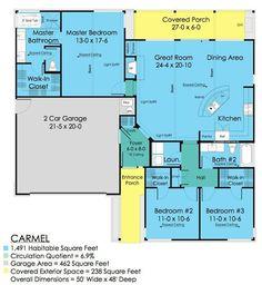 1500 sq ft plan - pretty much perfect