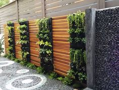 reate a beautiful vertical garden, or an entire green wall with our Delectable Garden 12 pocket planters. These planters are made with recycled PET plastic bottles, so they're eco-friendly as well! Garden Wall Planter, Living Wall Planter, Vertical Garden Wall, Vertical Planter, Outdoor Wall Planters, Vertical Gardens, Garden Walls, Patio Wall, Planters On Fence