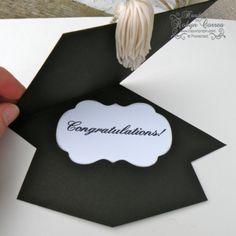 How To Make a Tassel & Graduation Cap Card | Tassels and Cap