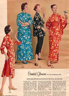 1956 Sears Christmas Catalog, Oriental glamour!