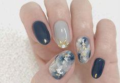 42 elegant nail art designs for prom 2019 41 Asian Nail Art, Asian Nails, Korean Nail Art, Korean Nails, Korean Art, Elegant Nail Art, Trendy Nail Art, Stylish Nails, Cool Nail Art