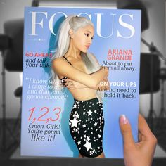 Ariana Grande - Focus made by sabrina.mahajan123@gmail.com | Coverlandia