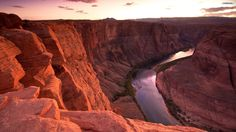 Red Canyon River Wallpaper