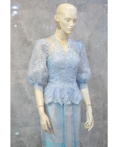 Traditional Dresses Designs, Traditional Fashion, Traditional Outfits, Dress Brukat, Batik Dress, The Dress, Dress Brokat Modern, Kebaya Modern Dress, Model Dress Kebaya