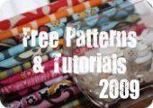 Free Sewing patterns!!