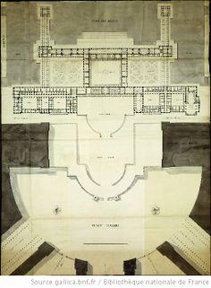 Restauration du Château de Versailles. Etienne-Louis Boullée.