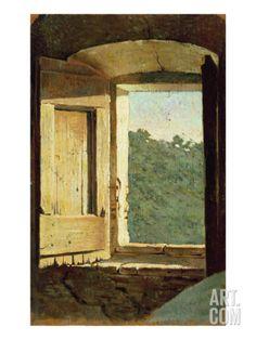 The Window Giclee Print by Giuseppe Abbati at Art.com