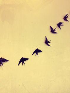 Swallows by Bordalo Pinheiro