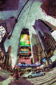 "Saatchi Online Artist: Jean-Francois Dupuis; Acrylic, Painting ""New York"""