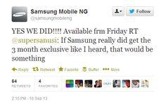 BBM Android App hits Samsung Galaxy phones this Friday http://digitalstreetsa.com/bbm-android-app-hits-samsung-galaxy-phones-friday/