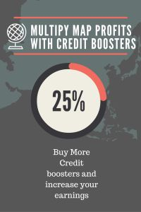 Multipy MAP profits with credit booster