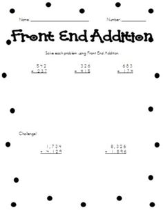 1000 images about math concepts for grade 2 on pinterest place values word problems and area. Black Bedroom Furniture Sets. Home Design Ideas