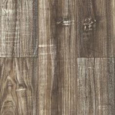 Cumberland Falls 14.3mm Hand Scraped  Laminate Arctic Cliff with Attached Pad