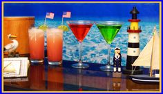 Cocktail Ideas For A Nautical Party | Drink Recipes