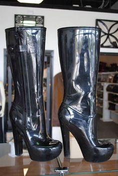 Louis Vuitton High Heel Rainboots