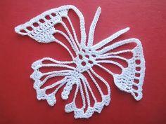 Фантазийная бабочка Fantasy Butterfly Crochet - YouTube