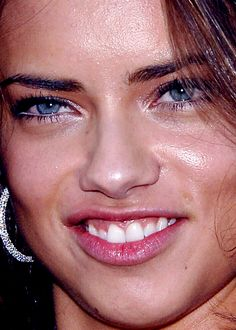 Pores: we all have them. It will be okay. // Adriana Lima